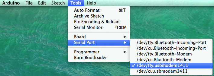 IDE Toolbar